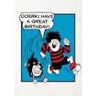 Beano 'Ooerk Have A Great Birthday' Card