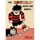 Beano - Beano 'The Birthday Rules Are Simple' Card
