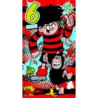 Beano - Beano '6 Today' Birthday Card