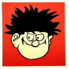 Dennis the Menace Face Greeting Card