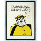 Beano Desperate Dan Can't Remember Print