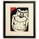 Beano Gnasher Grins Prints