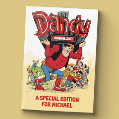 Personalised Dandy Annual 2021