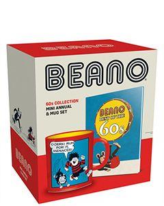 Beano 60s Mini Annual & Mug Set - Small