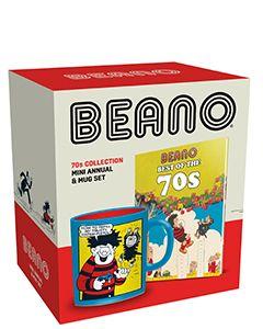 Beano 70s Mini Annual & Mug Set - Small