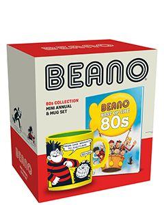 Beano 80s Mini Annual & Mug Set - Small