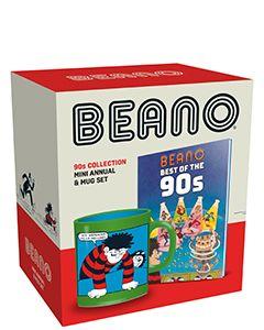 Beano 90s Mini Annual & Mug Set - small