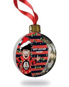 Personalised Dennis Christmas Bauble
