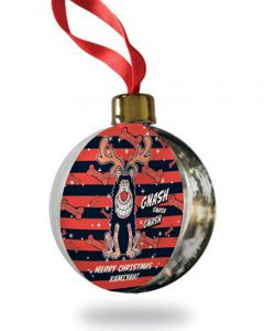 Personalised Gnasher Christmas Bauble
