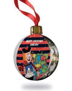 Personalised Minnie Christmas Bauble