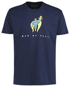 Adult Bananaman Man Of Peel T-Shirt