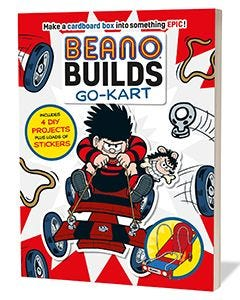 'Beano Builds: Go-Kart' Activity Book - Thumbnail