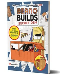 Beano - 'Beano Builds: Secret Den' Activity Book - thumbnail