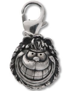 Classic Gnasher Head Silver Charm
