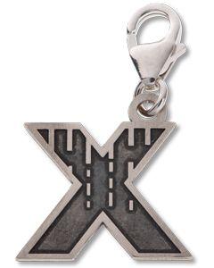 Beano Comic Book Letter 'X' Silver Charm