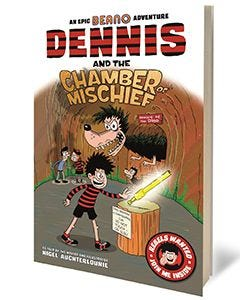 Beano Dennis and the Chamber of Mischief Book - Thumbnail