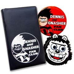 Dennis and Gnasher Fan Club Pack