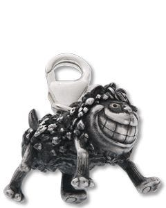 Classic Silver Standing Gnasher Charm