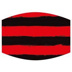Dennis & Gnasher Black & Red Stripes Face Mask