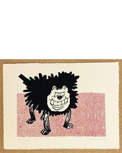 Beano Gnasher Stands Print