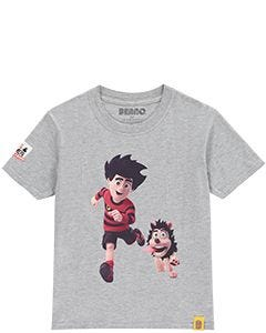Beano Kids Dennis & Gnasher Running T-Shirt