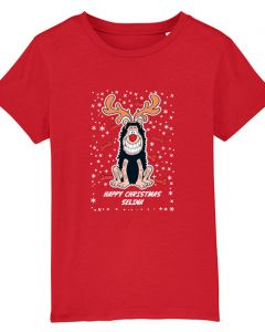 Personalised Gnasher Christmas Red T-Shirt
