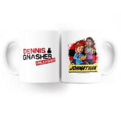 Dennis & Gnasher Unleashed Mug - Rubi & JJ