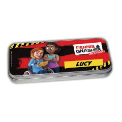 Dennis & Gnasher Unleashed Pencil Tin - Rubi & JJ