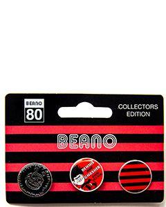 Collectors Edition Fan Club Pin Badges