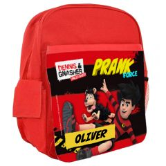 Dennis & Gnasher Unleashed Personalisable Rucksack - Dennis & Gnasher