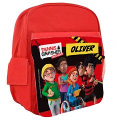 Dennis & Gnasher Unleashed Personalisable Rucksack - The Prank Force