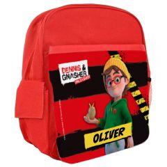 Dennis & Gnasher Unleashed Personalisable Rucksack - Pieface
