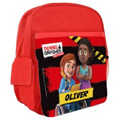 Dennis & Gnasher Unleashed Personalisable Rucksack - Rubi & JJ