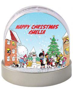 Personalised Beano Comic Snow Globe