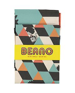 Beano Retro Tea Towel Set - Thumbnail