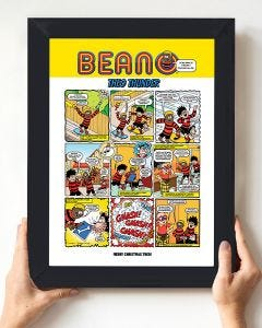 Build-a-Beano - Personalised Art Print