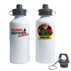 Dennis & Gnasher Unleashed Water Bottle - Pieface