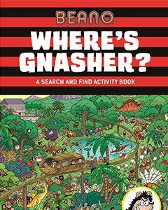 Beano Where's Gnasher - Thumbnail