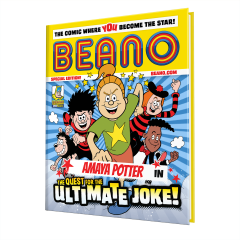 Build-a-Beano - Personalised Comic Book