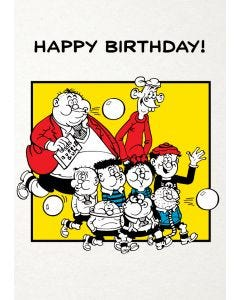 Beano Bash Street Kids 'Happy Birthday!' Card
