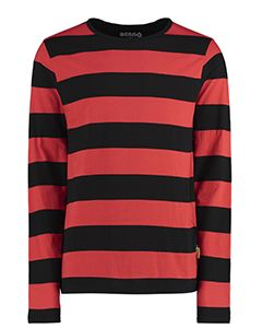 Adult Dennis Striped Long-Sleeve T-Shirt