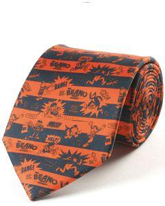 Beano Black & Red Silk Tie