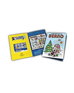 Beano Isle Of Man Post Office Christmas Collectors Album