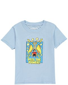 Beano Kids Bananaman Peel The Power T-Shirt