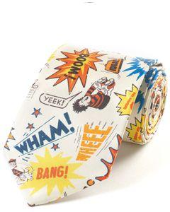 Beano Wham Bang! Silk Tie