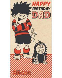 Beano - Beano 'Happy Birthday Dad' Card