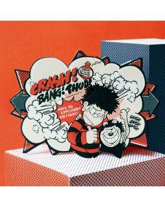 Dennis Blast Beano Surprise Card