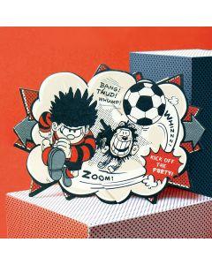 Dennis Football Beano Surprise Card