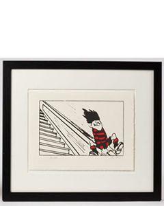 Beano Dennis the Menace Bannister Print - Thumbnail