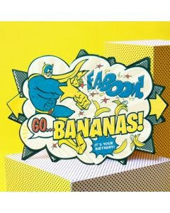 Bananaman Beano Surprise Card